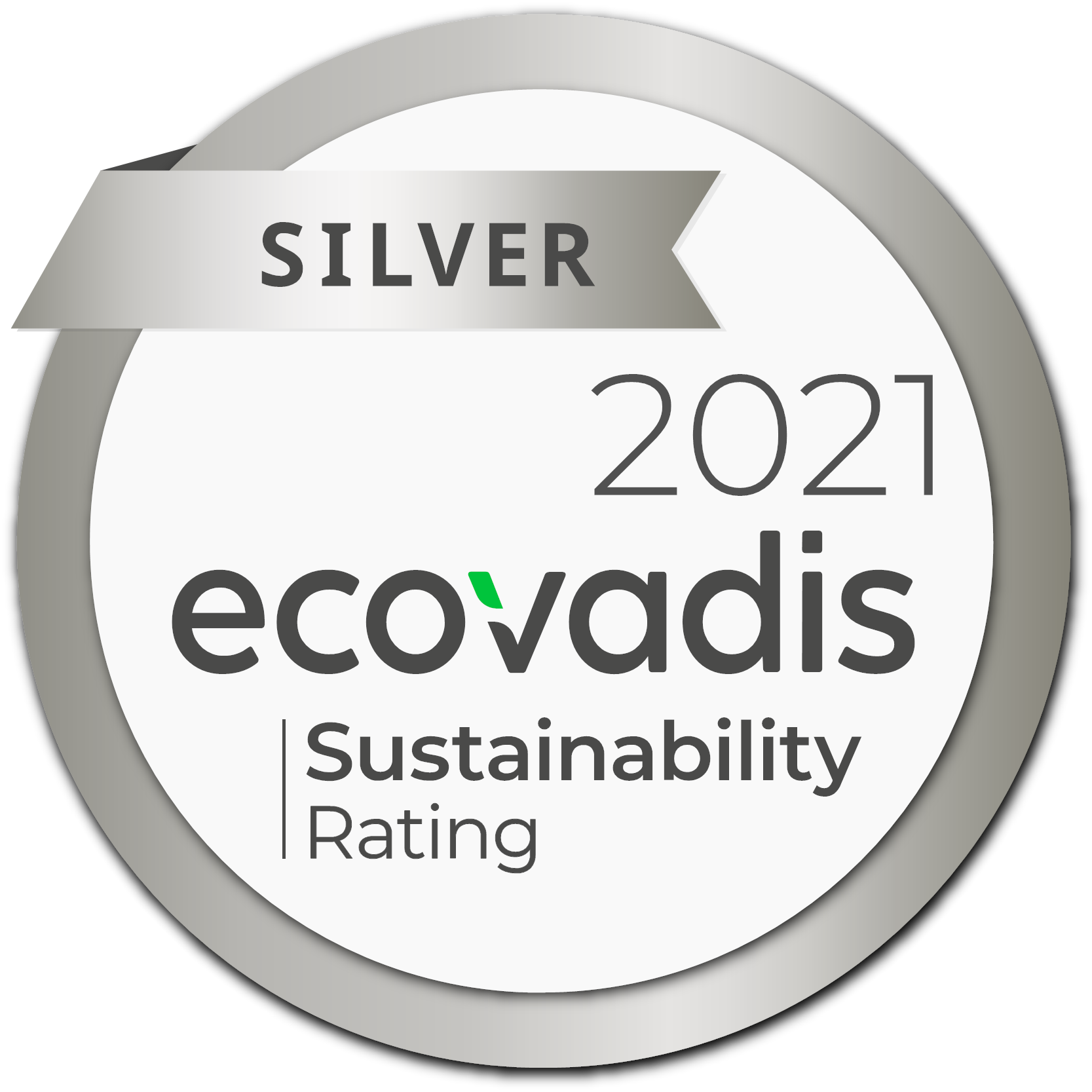 Silver Medal Ecovadis